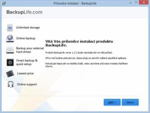 BackupLife 1.5.0 - náhled