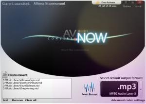 AV MIDI Converter 1.0.16 - náhled