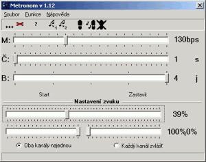 Metronom 1.13 - náhled