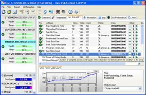 Hard Disk Sentinel 5.40 - náhled
