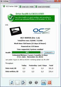 SSD Life 2.5.82 - náhled