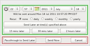 Send Later 3.3.1 - náhled