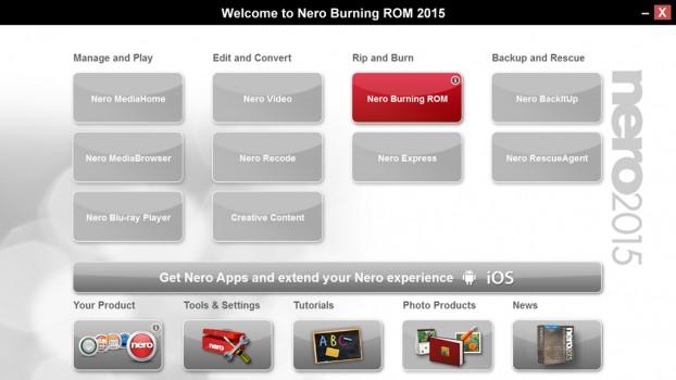 nero burning rom latest version
