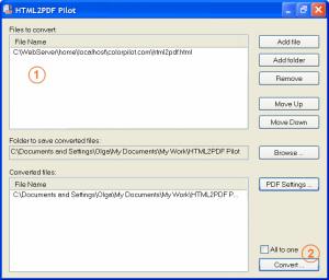 HTML2PDF Pilot 2.16.99 - náhled