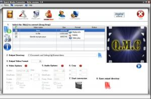 Quick Media Converter HD 4.8.0.5 - náhled