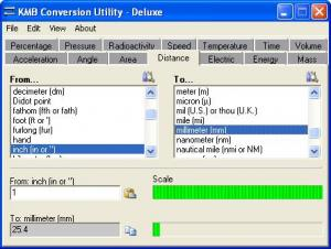 KMB Conversion Utility 3.1.0 - náhled