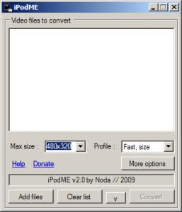 iPodME 2.4 - náhled
