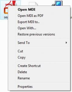 MDI2PDF Converter 2.61 - náhled