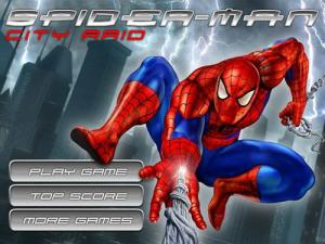 Spiderman City Raid - náhled