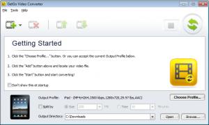 GetGo Video Converter 3.0.0.562 - náhled