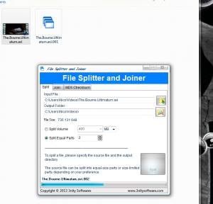 File Splitter and Joiner 1.0.1.0 - náhled