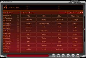 Nexus Radio 5.6 - náhled