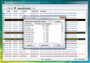 Kiwi Syslog Daemon Free 8.3.48 - náhled
