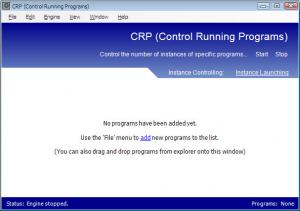 CRP - Control Running Programs 1.0 - Beta 2 - náhled