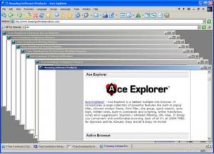 Ace Explorer 2.0 - náhled