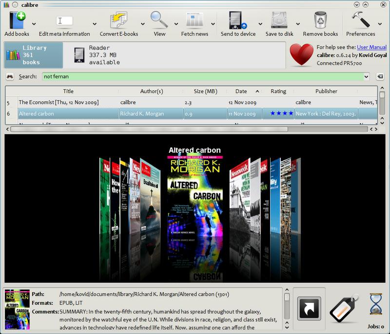 calibre ebook reader download