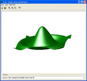 Graf - kreslení grafů funkcí 3.1 - náhled