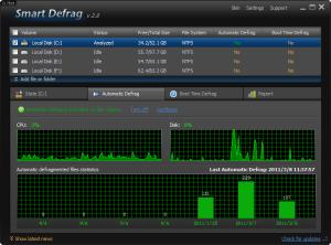 Smart Defrag 6.4.5 - náhled