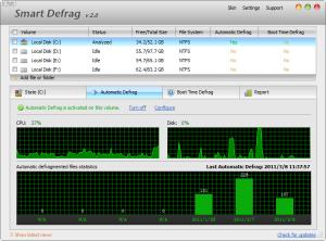 Smart Defrag 5.4.0.998 - náhled