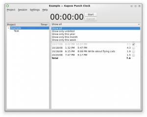 Kapow 1.4.4 - náhled