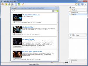 YTubePlayer 2.0.607 - náhled