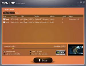 Modiac Blu-ray Ripper 1.0.0.0.4134 - náhled