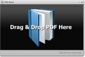 PDF Burst 1.0 - náhled
