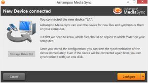 Ashampoo Media Sync 1.0.2 - náhled
