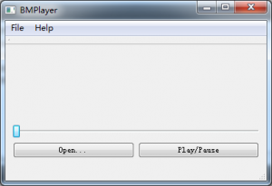 BMPlayer 1.1.0 Beta1 - náhled