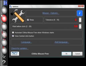 Clikka Mouse 1.7.3 - náhled