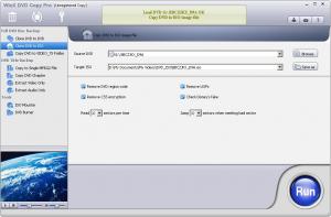 WinX DVD Copy Pro 3.7.0 - náhled