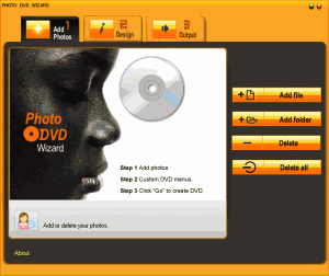 Photo DVD Wizard 2.00 - náhled