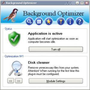 Background Optimizer 1.4 - náhled