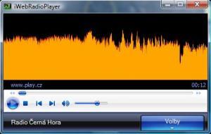 iWebRadioPlayer 1.0. - náhled