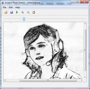 Instant Photo Sketch 1.0 - náhled