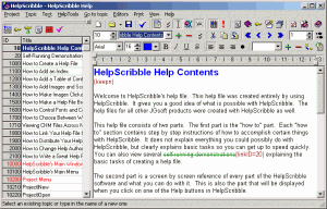 HelpScribble 8.1.1 - náhled