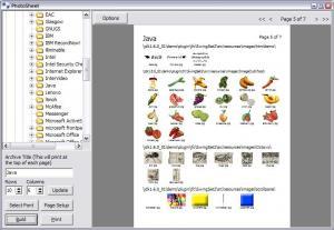 Photosheet 1.0.2 - náhled