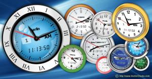 Free Vector Clocks 2011.4 - náhled