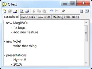QText 4.11 - náhled