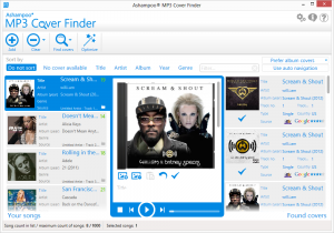 Ashampoo MP3 Cover Finder 1.0.17 - náhled