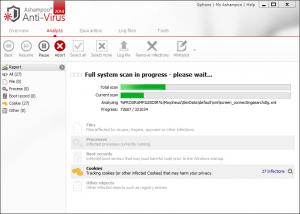Ashampoo Anti-Virus 2016 1.3.0 - náhled