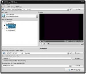 Soft4Boost DVD Cloner 5.8.9.965 - náhled