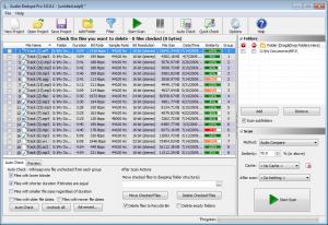 Audio Dedupe 4.3.0.1 - náhled