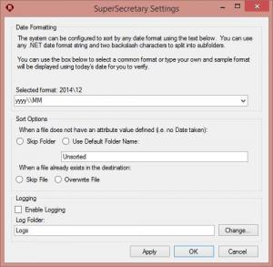 SuperSecretary 2.0 - náhled
