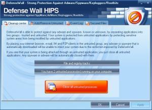 DefenseWall HIPS 3.05 - náhled