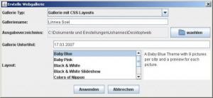 Java Mass JPEG Resizer Tool 0.8 - náhled