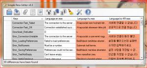 Simple Resx Editor 0.7.1.0 - náhled