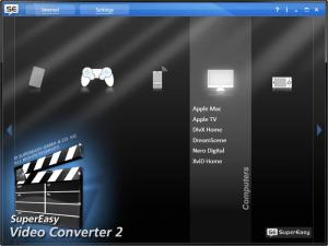SuperEasy Video Converter Premium 2.1.3063 - náhled