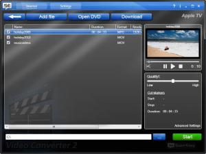 SuperEasy Video Converter Basic 2.1.3063 - náhled