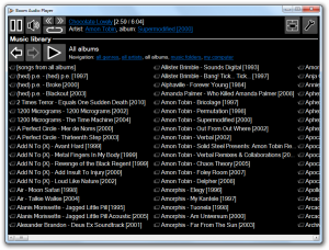 Boom Audio Player 1.0.21 - náhled